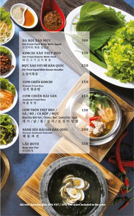 Món Hàn Quốc