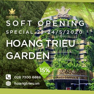 Soft Opening Hoàng Triều Garden - GIẢM NGAY 15% TOÀN DỊCH VỤ 1