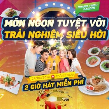 Hát miễn phí tại Karaoke Hoàng Triều 24